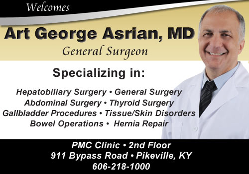 PMC Welcomes Dr. Art George Asrian