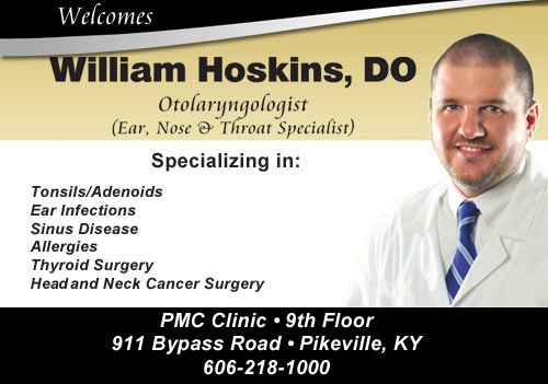 PMC Welcomes Dr. William Hoskins