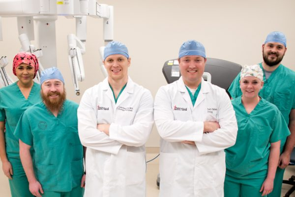 PMC da Vinci surgical team performs 100th robotic surgery