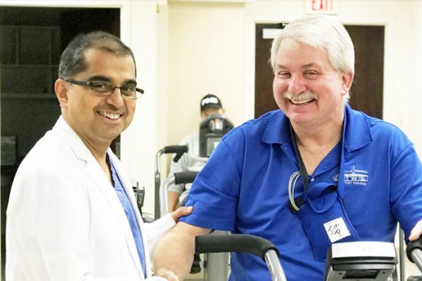 Patient praises ED, cardiac care team