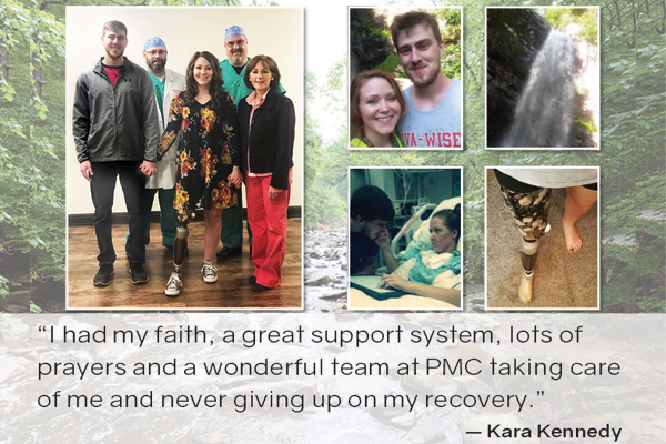 Kara Kennedy, Trauma Survivor