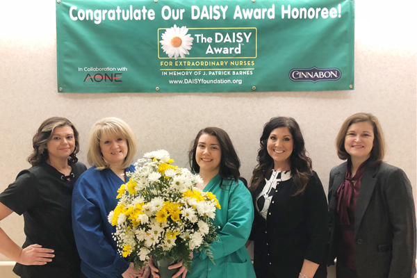 Sumner named tenth DAISY Award Recipient