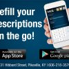 Refill your  prescriptions  on the go!