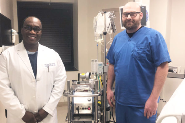 Region's Only ECMO Advanced Life Support Machine Now Available at PMC
