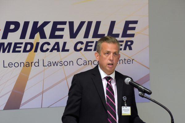Leonard Lawson Cancer Center Introduced to Press
