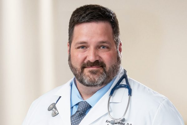 PMC Welcomes Family Medicine Physician, Kevin Farthing, DO