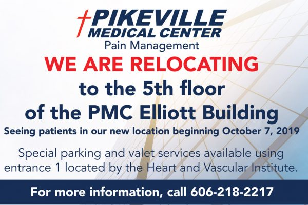 PMC Now Accepting New Patients for Pain Management