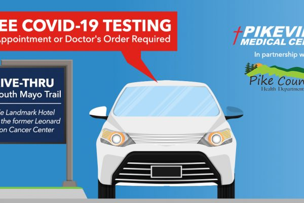 Free Drive-Thru COVID-19 Testing Now Available *UPDATED