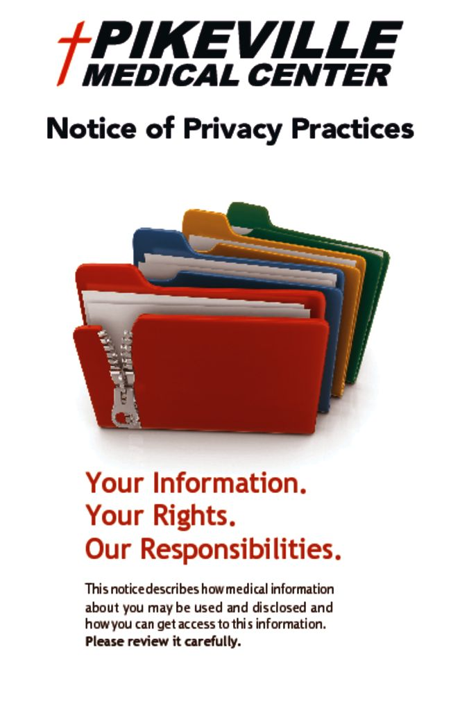 thumbnail of Notice Of Privacy Practices Booklet _June_1_2020