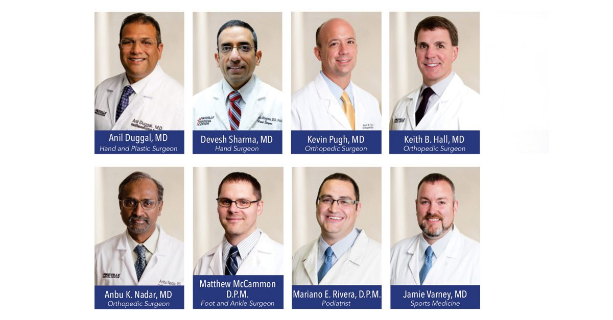 Elite Team of Physicians Provide Orthopedic Care at PMC