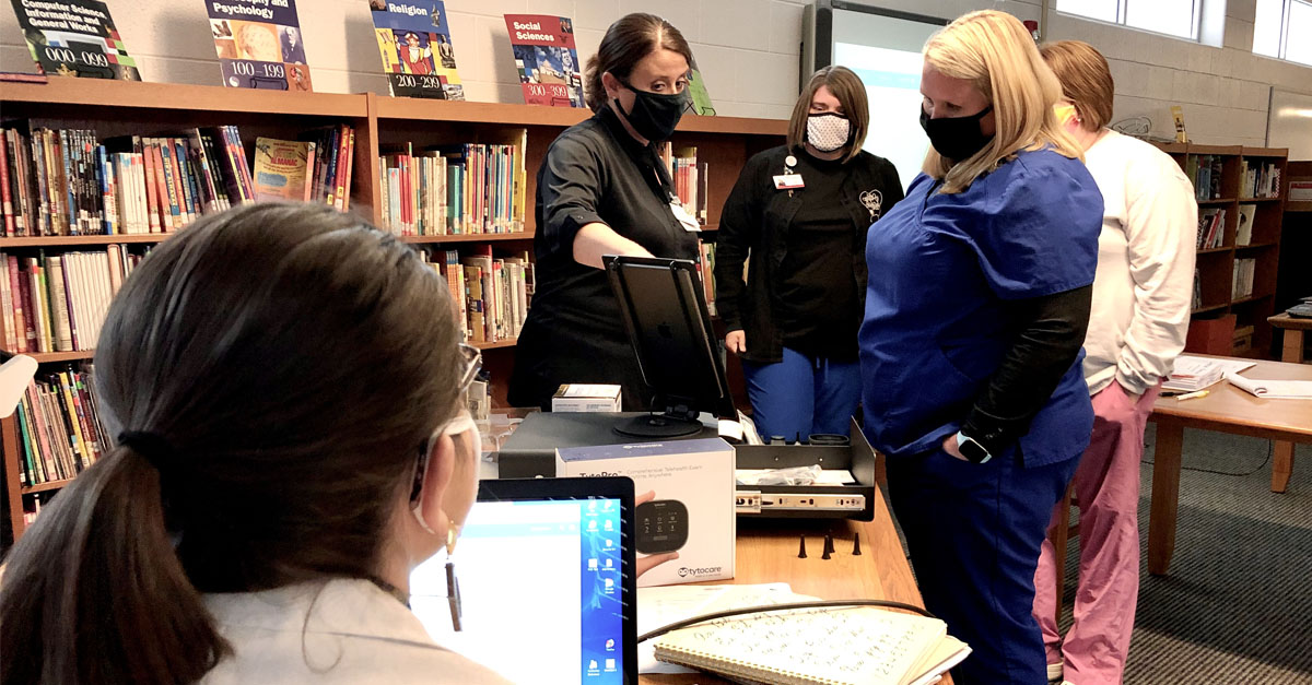 """PMC Conducts Training for """"Healthy at School"""" Telehealth Program"""