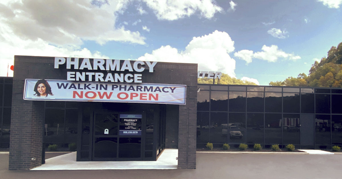 New Walk-in Pharmacy Features Automated Technology