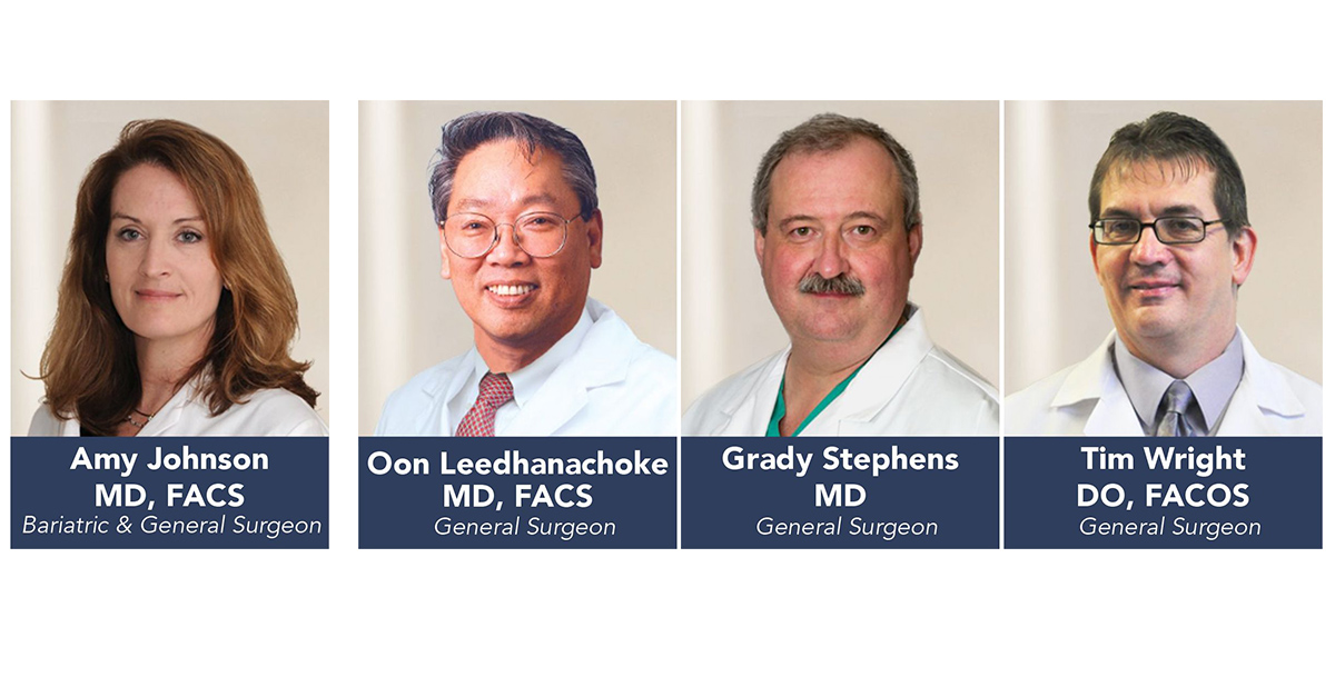 PMC's Surgeons Bring Nearly 100 Years Experience to the OR