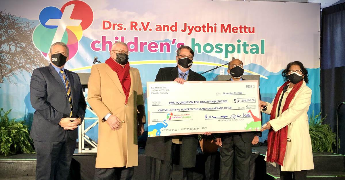 Pikeville Medical Center Reveals New Name for Children's Hospital
