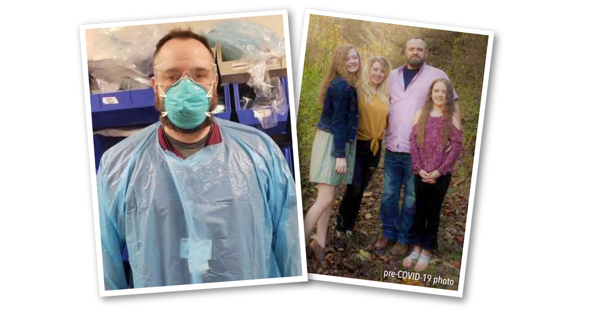 Honoring PMC's Frontline Staff: Chris Mullins: Respiratory Therapist