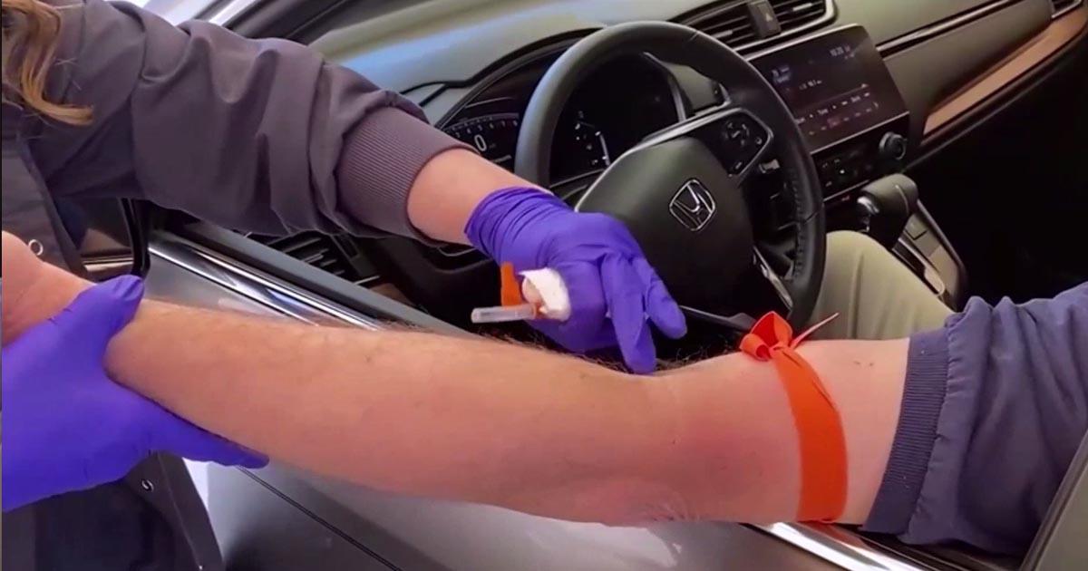 Drive Thru-Labs Safer, More Convenient for PMC Patients