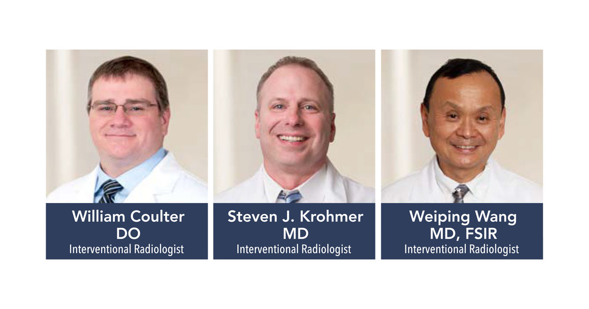 Interventional Radiologists Offer Minimally Invasive Treatment Options