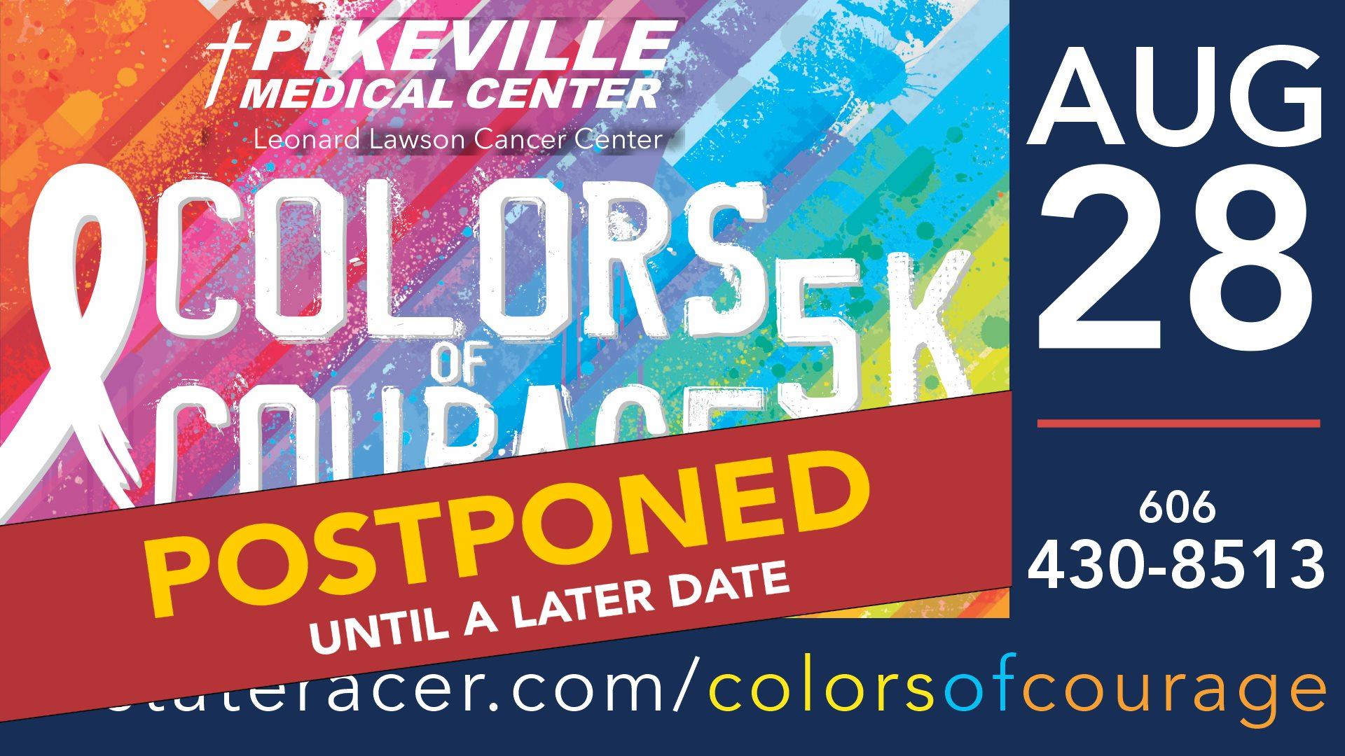 UPDATE: Colors of Courage 5K Postponed